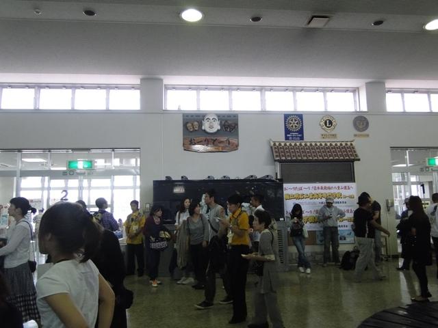 石垣空港内 とても小さい空港でした!