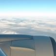 グアムに向かう上空