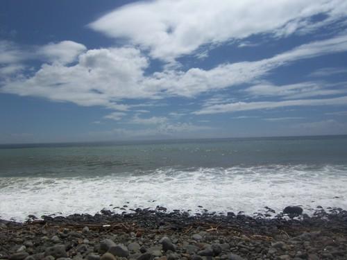 伊豆白浜近くの海岸