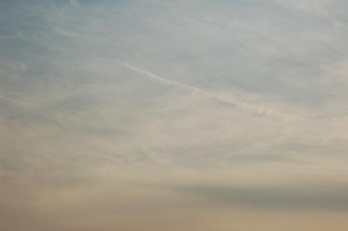お台場-地震雲?