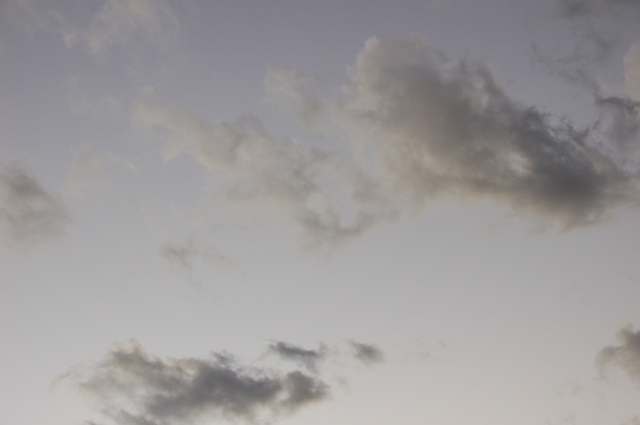夕方-自宅の窓から2